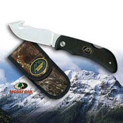 Outdoor Edge Grip-Hook Folding Knife Black