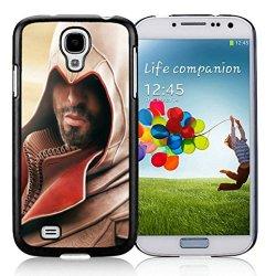Diy Assassins Creed Desmond Miles Hood Beard Arm Hand Knife Samsung Galaxy S4 I9500 Black Phone Case