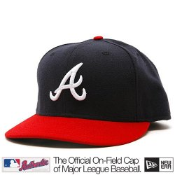 Atlanta Braves Mlb Authentic Baseball Cap 7-3/8 Osfa - Like New