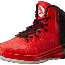 Adidas Performance D Rose 4 J Basketball Shoe (Big Kid), Scarlet/Clear Grey/Core Black, 4.5 M Us Big Kid