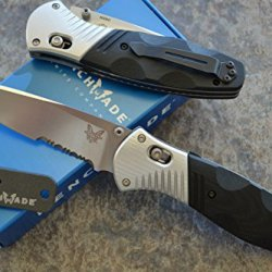 Benchmade 581S Barrage Assisted Opening Knife W/ Free Benchmade Mini Sharpener