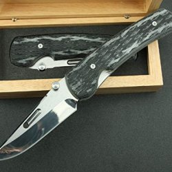 Charm Outdoor Survival Camping Pocket Folding Knife With Rescue Spring Assisted-8.07''