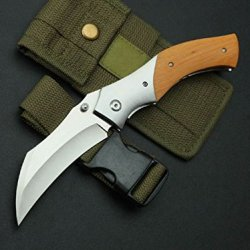 Charm Outdoor Survival Camping Pocket Folding Knife D2-9.25''
