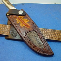 Ustom Leather Knife Sheath For A Puma Bowie Model Number 6116396 Only