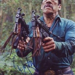Danny Trejo Signed *Machete* 8X10 Photo Machete Cortez W/Coa #1