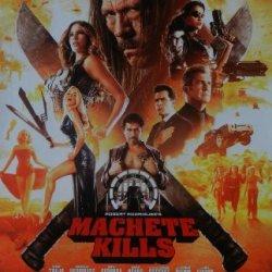 Machete Kills Original Studio Promo Movie Poster Charlie Sheen Sofia Vergara 11X 17