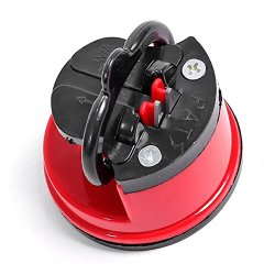 Steel Knife Sharpener With Suction Pad Scissors Grinder Secure Suction Chef Pad Kitchen Sharpening Tool