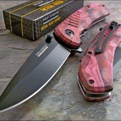 Tac-Force Pink Camo Speedster Knife Brand New!