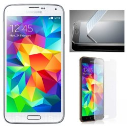 Versiontech Real Tempered Glass Film Screen Protector Guard Cover For Samsung Galaxy S5 I9600