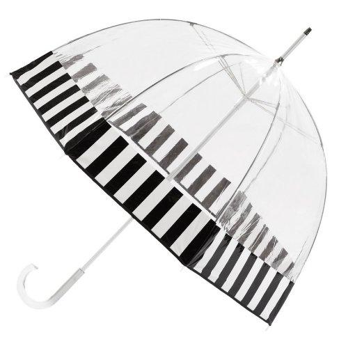 TOTES トーツ 傘 Bubble Umbrella バブル ブラック・ホワイト アンブレラ【並行輸入品】