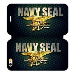 Jdsitem Unique U.S. Navy Seals Retiary Design Case Cover Sleeve Protector For Phone Iphone 6 Plus 5.5""
