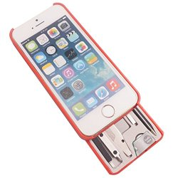 Task Lab Mytask Urban Case For Iphone 5/5S - Light Red, Small