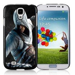 Diy Assassins Creed Desmond Miles Guard Helmet Fist Knife Samsung Galaxy S4 I9500 Black Phone Case