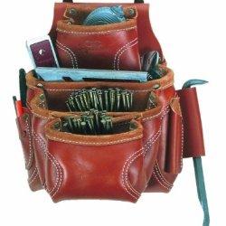 Custom Leathercraft 21684 Nail And Tool Bag, 9-Pocket