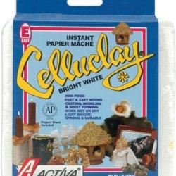 Activa Celluclay Instant Papier Mache, 1-Pound, Bright White