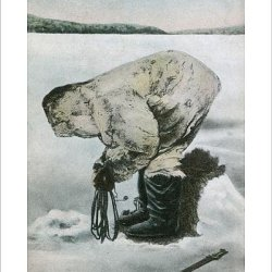 Photographic Print Of Inuit Seal Hunting (2/5)