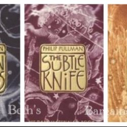 3 Books: His Dark Materials Series Set By Phillip Pullman - The Golden Compass, The Subtle Knife, The Amber Spyglass (His Dark Materials Set Series Collection, Vol 1, 2, 3)