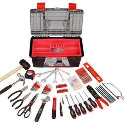 Apollo Precision Tools Dt7102 170 Piece Household Tool Kit With Tool Box