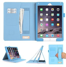 Luxurious-Protection-iPad-Air-2-Case-FYY-Premium-Leather-Case-Smart-Auto-WakeSleep-Cover-with-Velcro-Hand-Strap-Card-Slots-Pocket-for-iPad-Air-2