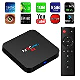 TICTID M9C Pro Android 6.0 Tv Box 4K New Amlogic S905X Chipset-Quad Core [1G/8G] with Kodi 16.1 Fully Loaded-Support Ultra-Fast Running Speed -2.4G WIFI Streaming Media Player