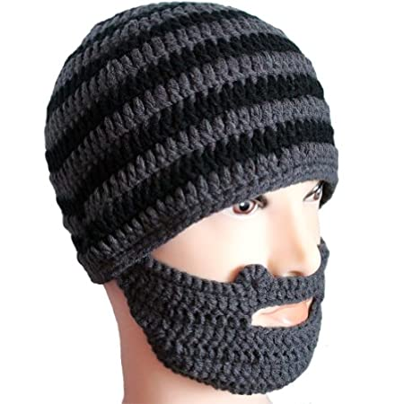 Amurleopard knit beard caps combine the comfort and warmth of a traditional knit cap with the amazing styling of having a massive beard and moustache growing on your face What person could pass up the incredible opportunity to sport his or her very o...