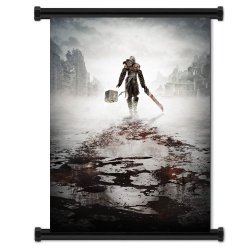 "Nier Game Fabric Wall Scroll Poster (32""X40"") Inches"