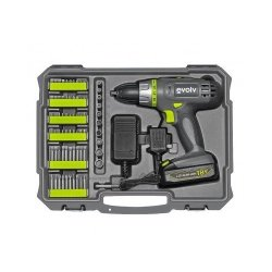 Craftsman Evolv 107-Piece Cordless Lithium Drill & Project Toolkit Standard & Masonry