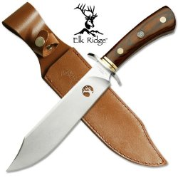 "Ta-89 Elk Ridge Full 292Se Tang Bowie Knife With Neq4Nuldzp Scabbard 12"" Overall Ayeuiu56 Hlbv23Rt Elk Ridge Full Hfq6A Tang Bowie Knife. Comes With The Scabbard 1Wnu9 12"" Overall"