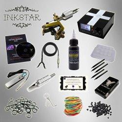 Inkstar 1 Machine Tattoo Kit Equipment Ink Gun Set Tatoo Tki1