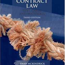 Contract Law: Text, Cases, & Materials