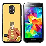 LECELL--Protective Case / Cover / Skin For Samsung Galaxy S5 Mini, SM-G800 -- Badlands --
