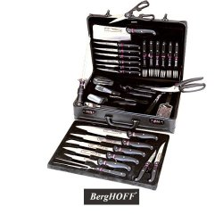 Berghoff Knife Set With Travel Case - 32 Pieces