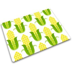 Joseph Joseph 12 By 16-Inch Worktop Saver With Corn Design