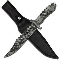 Z Hunter Zb-037Gy Fixed Blade Knife, 13-Inch