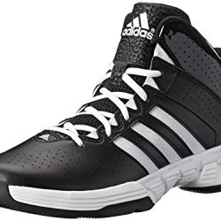 Adidas Performance Men'S Cross 'Em 3 Basketball Shoe, Core Black/Running White/Black 1, 10 D Us