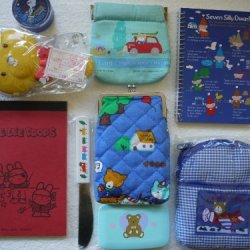 Vintage Assorted Sanrio Items (1977-1985) - Made In Japan