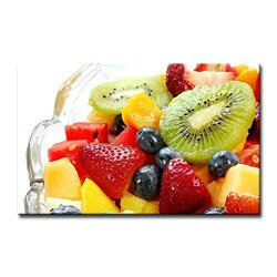Wall Art Painting Salad Kiwi Strawberry Mango Watermelon Colourful Fruits Pictures Prints On Canvas Food The Picture Decor Oil For Home Modern Decoration Print