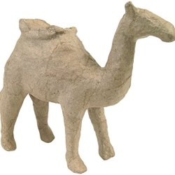 "Paper Mache Figurine 4.5""-Camel *** Product Description: Paper Mache Figurine 4.5""-Cameldecopatch-Paper Mache Figurine. This Figure Is Fun For Decoration And Play. It Can Be Painted And Decorated How You Want To. This Package Contains One 4-1/2 I ***"