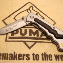 Puma Knife - Handmade Flash 230400 - Germany