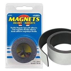 Master Magnetics #07053 1X30 Flex Magnet Tape