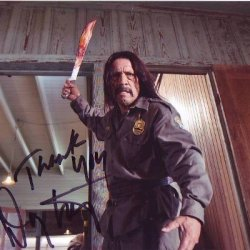 Danny Trejo Signed Autographed Photo Machete & Sons Of Anarchy