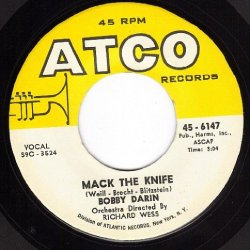 Mack The Knife/Was There A Call For Me (Vg+ 45 Rpm)