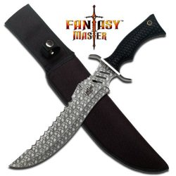 1-1/2 In Big Skull Bowie Knife Fm647S - Tactical / Survival Knives