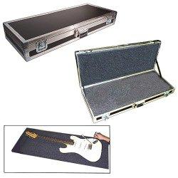 "Guitar 'Uncut Foam' 1/4"" Medium Duty Ata Case 'Do-It-Yourself Cutout' For Bass Guitars"