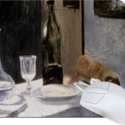Rikki Knighttm Claude Monet Art Still Life With Bottles And Knives Tanpad Ultra Thin Mouse Pad Ideal For All Laptops, Notebooks, Macbook Air, Macbook Pro