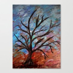 Society6 - Abstract/Palette Knife Canvas Print By Maggs326