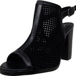 Kelsi Dagger Women'S Goya Dress Sandal,Black/Black,8.5 M Us