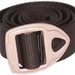 Bison Designs 30Mm Wide Danger Belt With Gunmetal Buckle (Black, 42-Inch Maximum Waist/Large)