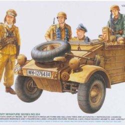 Tamiya 1/35 Kubelwagen Type 82 Ramcke Tam35304