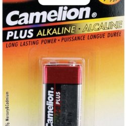 Alkaline Batteries 1/Pkg-9V